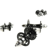 Wholesale Novatec A165 A166 Fixed Gear Hubs Front Rear Black Track Hubs Holes red black Hub Bearing Hubs