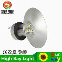 bay beam - Super bright W LED High Bay Industrial LED Light V led down lamp lights beam angle led high bay light