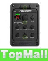 Wholesale LAI Fishman Pickups Presys Preamp EQ Tuner Piezo Pickup Equalizer System Acoustic Guitar Pickup