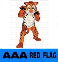 adult clothing stores - store Friendly Tiger Mascot Costume christmas halloween dress clothes party fancy character adult size LLFA11