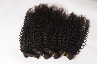 Wholesale 3pieces Synthetic Fiber Hair Kinky Curly Hair Extension New Products Water Wave quot quot Weaving Hair Kinky Curly Hair Extensions