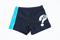 Wholesale 2016 Fashion Summer Toddler Boys Board Short Question Mark Swim Trunks Kids Boy Swim Wear