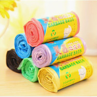 Wholesale Thick Colored Garbage Bags Disposable Trash Storage F1209