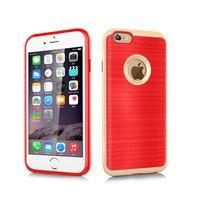 aluminum wallet orange - Luxury Korea Style Motomo Case for Iphone plus Brushed Aluminum PC Metal Case for iPhone6s quot Multi Color