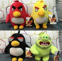 big bird movies - New cm Angry Bird movie plush Doll toys cartoon Stuffed Animals soft doll with tag Angry Birds toy style