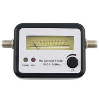 Wholesale Digital Satellite Signal Finder Alignment Signal Satfinder Meter Compass FTA TV Signal Receiver Finder Store