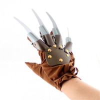 Wholesale Halloween Adult Cosplay Costumes Bar Party Ball Make up Activities Props Costume Jason Killer Ghost Gloves Cosplay Theme Prop Decoration
