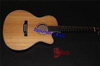 Wholesale custom acoustic electric guitar single cut GPCPA4 guitar new guitar fishman eq satin finishing acoustic guitar