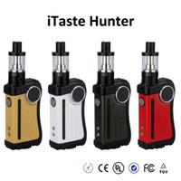 Wholesale Innokin iTaste Hunter Starter Kit W TC BOX Mod original with iSub v atomizer ml tank OLED screen vs cool fire IV