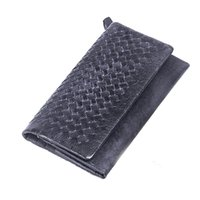 Wallets Men Credit Card Mens vintage businsess genuine leather long wallets Man fashion Brand new zipper phone Clutch Bags Male Boys 17 credit card slots dark grey