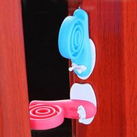 best door stops - Best Sale pack Baby Safety Creative Revolving Door Stop Snail Animal Shape Door Stops Holder Lock Finger Protector VT0268