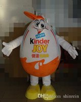 adult surprise party - ohlees actual picture Kinder Surprise egg Mascot costume for Halloween party activity Fancy christmas adult size