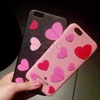 apple new york - iphone case from New York brand D stereo hearts PU and hard PC back cover for iphone s plus