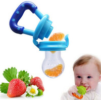 Wholesale Baby Pacifier Fresh Food Milk Nibbler Feeder Kids Nipple Feeding Safe Baby Supplies Nipple Teat Pacifier Bottles