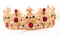 Wholesale 2016 bride wedding accesories hair tiara crown Crystal Rhinestone Wedding accessories TS112