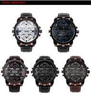 belt buckles china - Europe Fabric Men s Business Sport Wristwatches High Grade Leather Belt Quartz Movement Watches Pin Buckle Cool Extermal AAA China Brand