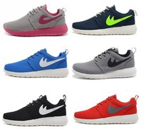 best denim fabric - 2016 Brand Good Best Quality Roshe Run Many Colors Running Shoes Men Womens Shoes Size Eur