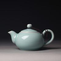 art clay kiln - ml Tea Beauty Top grade Di Kiln Longquan Celadon Zisha Ceramics Arts Tea Pot TayShi Pot Porcelain yixing Clay Antique Teapot