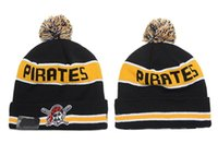 best quality hats - Pittsburgh Pirates Baseball Beanies Team Hat Winter Caps Popular Beanie Caps Skull Caps Best Quality Sports Caps Allow Mix Order