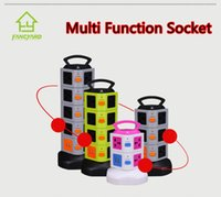 Wholesale Factory Direct Selling Socket High Quality Multi Functions USB Extension Plug Universal Outlet Vertical Socket FY9001