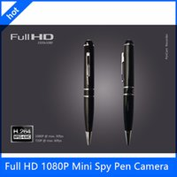 Wholesale 8GB GB GB Worlds BEST Spy Video Pen Full HD P Mini Spy Pen Camera H Motion Detetction HDMI Port