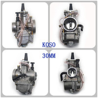 Wholesale Motorcycle Parts Motor Carburetor Modification mm mm PWK OKO KOSO Carburetor Carb With Power Jet Fit Race Scooter