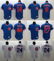 Wholesale 2016 Newest Elite Men s Chicago Cubs Anthony Rizzo Banks Dawson Fowler Russell Flexbase Authentic Collection Jerseys