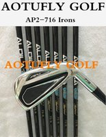 Iron golf clubs irons set - Stock New golf AP2 forged irons with steel shafts P clubs golf iron set pack by
