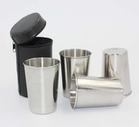 Wholesale Stainless steel glasses Small wine ml Shot Glass cup Feeding Cup sets