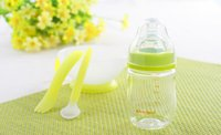Wholesale Baby high borosilicate wide mouth glass bottles