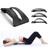 Wholesale 1PCS Multi Level Back Massage Stretching Magic Back Support Stretcher Waist Relax Mate Device Fitness Equipment BM001