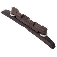 adjustable mandolin bridge - Top Quality Rosewood Guitar Bridge Adjustable Mandolin Bridge Excellent Durability Guitar Parts Accessories