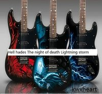 Wholesale hell hades series The night of death series Lightning storm series Electric guitar guitar