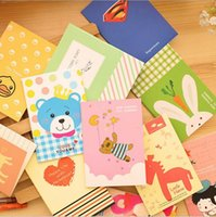 Wholesale Creative stationery small notebook cartoon notebook soft surface copy small gifts gifts Large number of cartoon images
