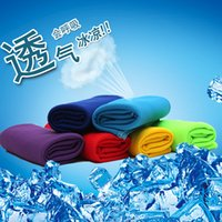 baby bath towels - Cold Towel x32cm cooling Towel Exercise Sweat Summer Sports Ice Cool Towel PVA Hypothermia Cooling Towel mix Single layer LC342
