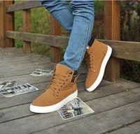 Precio de Altos tops hombres 45-Zapatos de tacón alto para hombres para ayudar a los zapatos casuales 38--45