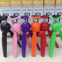 Wholesale 2016 Universal Cell Phone Camera Holder Selfie Stick Stand Mount Clip Mini tripod Accessories For iPhone6 Samsung S6 For Cameras HD