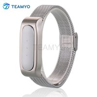 Wholesale Replace To Xiaomi Mi Band Smart Wristband Metal Strap For Xiaomi Mi Band Bracelet Replacement Band Accessories For Man