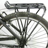 trailer hitch - Mountain Bike Bicycle Cycling Shelf Bike Racks Aluminum Backseat V Brake Luggage Racks Rear Carriers B098