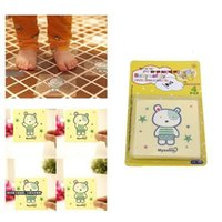 bath tub tiles - Non Slip Stickers Tape Mat PVC Cartoon Bear Applique For Bath Tub Shower Tile