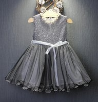 Wholesale Hug Me Baby Girls Dress Christmas Lace Tutu Autumn Winter Dresses Childrens Sleeveless for Kids Clothing Party Flower Dress AA