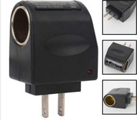 ac power converter for car - 110V AC Wall Power to V DC Car Cigarette Lighter Adapter AC to DC Converter EU US Plug