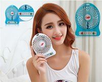 Wholesale 2016 hot sell LTD Portable Electric Mini USB Fan with strong wind cute Rechargeable micro USB FAN