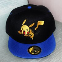 baseball action figures - 100pcs Hot Poke Go Baseball Hat Caps Unisex Women Men Adult Cartoon Action Figure Lightning Bird Articuno Hip Hop Snapbacks Ball Caps