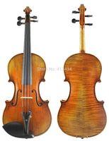 Wholesale Ch J B Collion Mezin Copy French violin Master Level Professional handmade antique Violin Austrian Spruce wood wood foam violin necklace