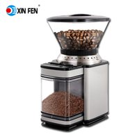 american metal cleaning - Professional burr coffee grinder American coffee easy clean easy uesd