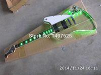 Wholesale electric guitar oem custom guitar Acrylic body maple neck guitar in china