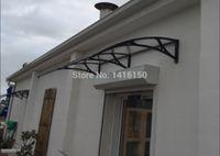 Wholesale DS100200 A x200cm depth cm width cm home window door aluminum overkapping new style polycarbonaat overkapping