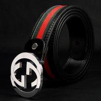 Wholesale fashion classic buckle gg belt designer leather belts men high quality mens belts luxury men designer leather belt
