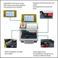 Wholesale Multi fuctional key cutting machine sec e9 Automatic Car Key duplicator Machine best Locksmith Equipment for car and house keys cutting